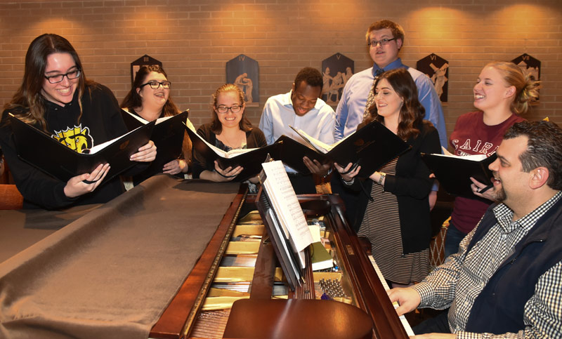 King's College choir Cantores Christi Regis will perform a free Spring Concert on April 28 and April 29 in the J. Carroll McCormick Campus Ministry Center