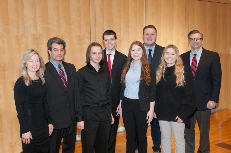 Six King's Students Earn Leadership Awards from Mass Communications Department