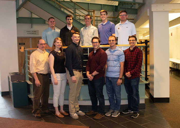 Ten King's College Students Accepted to Notre Dame as Third Class in Cooperative Engineering Dual Degree Program