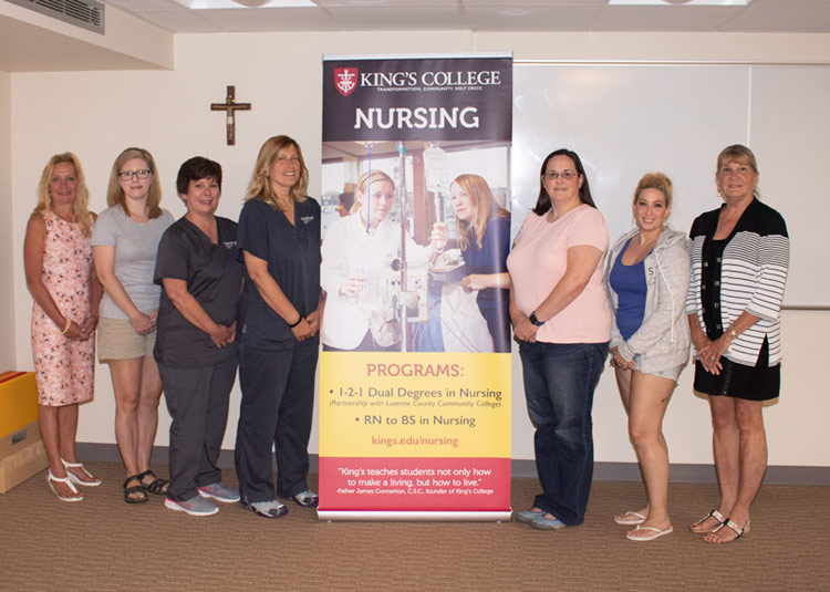 Area Nurses Members of Inaugural RN-to-BS Program at King's